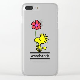 Woodstock Clear iPhone Case