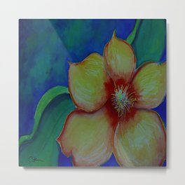 Flower Power WC20150714c-DE Metal Print