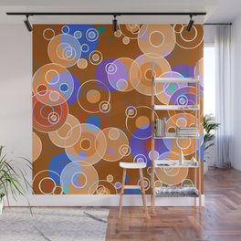 Hot Bubbles Wall Mural