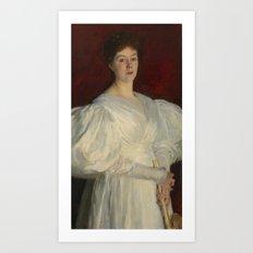 John Singer Sargent 1856–1925   Mrs Frederick Barnard Art Print