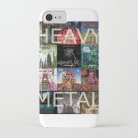 heavy metal iPhone & iPod Cases featuring Heavy Metal by Michael Keene