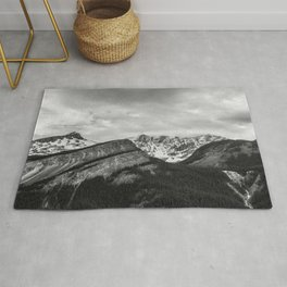 Jasper Glacier   Landscape Photography   Alberta Rug