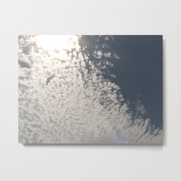 Made with clouds Metal Print