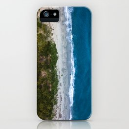Aerial Coastline in Colombia iPhone Case