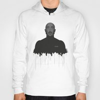 tupac Hoodies featuring Tupac portrait by Beitebe