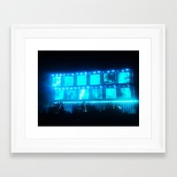 radiohead Framed Art Prints featuring Radiohead by Rui Faria