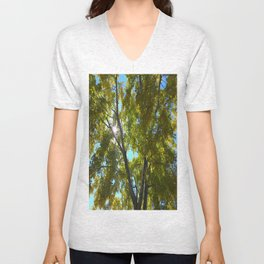 Sun Leaves Unisex V-Neck