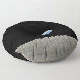 Earthrise Floor Pillow