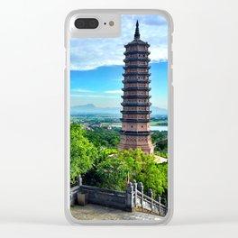 Chua Bai Dinh Pagoda, Vietnam Clear iPhone Case