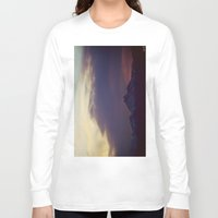 twilight Long Sleeve T-shirts featuring Twilight by Augustina Trejo