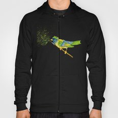 Feathers & Flecks (Canvas Background Edition) Hoody