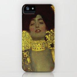 Gustav Klimt - Judith iPhone Case