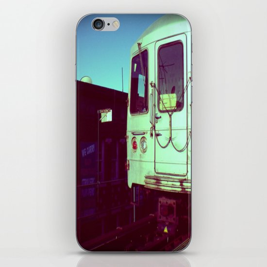 Subway A train in Queens - NYC iPhone & iPod Skin