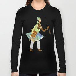 ORIXAS_ oxossi Long Sleeve T-shirt