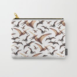 Realistic watercolor dinosaur Carry-All Pouch