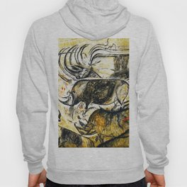 Panel of Rhinos // Chauvet Cave Hoody