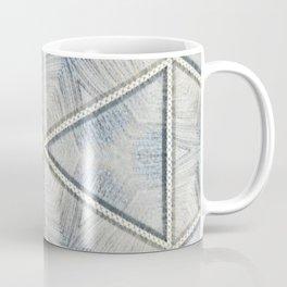 Powder Blue Equilaterals Coffee Mug