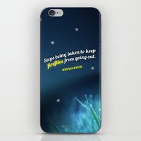 firefly iPhone & iPod Skins featuring Firefly by CampbellsAdopt