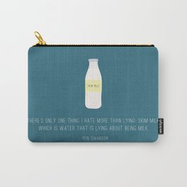 Ron Swanson Hates Lying Carry-All Pouch
