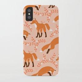 Socks the Fox - Dawn iPhone Case