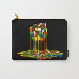 Rainbow Abstraction melted rubix cube iPhone 4 5 6 7 8, pillow case, mugs and tshirt Carry-All Pouch