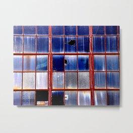 Tulsa Windows Series #1 Metal Print