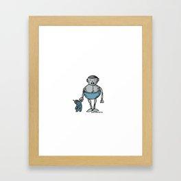 Robot Babies 4 Framed Art Print