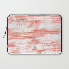 Light salmon pink abstract watercolor Laptop Sleeve