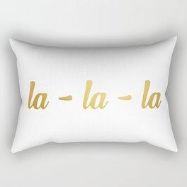 la-la-la 2 Rectangular Pillow
