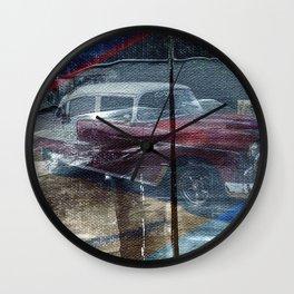 Vintage Americano de Cuba Wall Clock