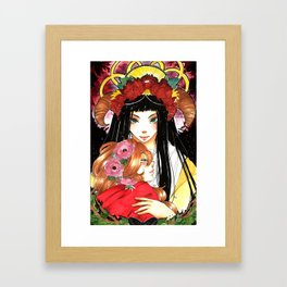 Forest flower  Framed Art Print