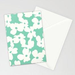 Dogwood: Mint Green Stationery Cards