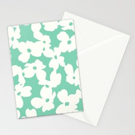 Dogwood: Mint Green Stationery Cards