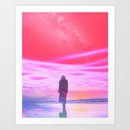 ENTER DREVMS II Art Print
