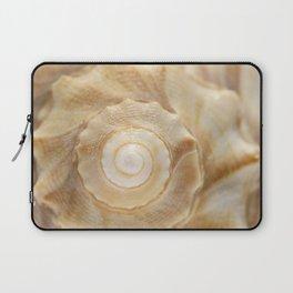 Lightning Whelk Seashell Laptop Sleeve