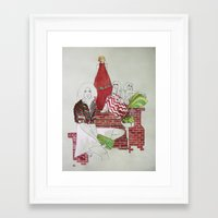 moscow Framed Art Prints featuring Moscow by Xenia Ericovna