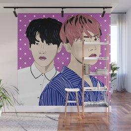 BTS J-Hope and Suga Wall Mural