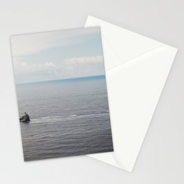 Lighthouse in the Sea Stationery Cards