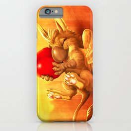 Cherry Guard - happy iPhone Case