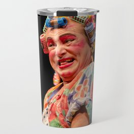 La reina de su casa Travel Mug