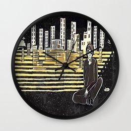 Grown up chaos Wall Clock