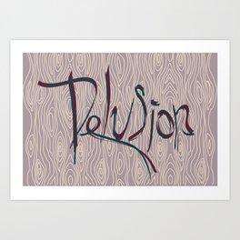Vector Art Art Print