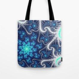 Winter Vortex Tote Bag