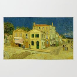 Vincent Van Gogh - The Yellow House Rug