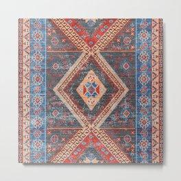 16 - Oriental Moroccan Artwork Farmhouse Rustic Style Metal Print