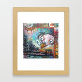 City Girl Framed Art Print