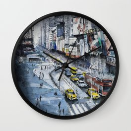 Time square - New York City Wall Clock