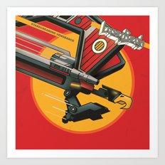 Laser Beak - Starscreaming Vengeance Art Print