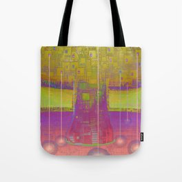 Xmas Connects Tote Bag