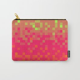 Pixel color Carry-All Pouch